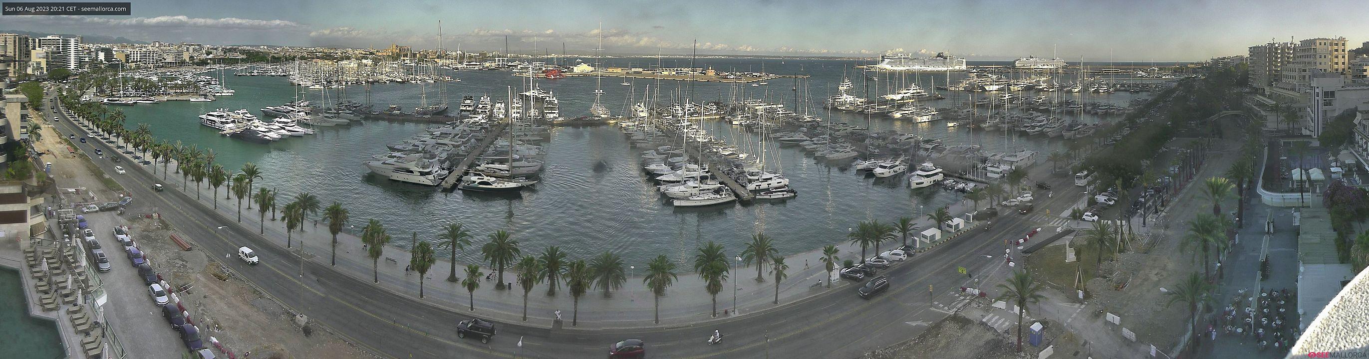 Webcam Haven van Palma (Hoofdstad)